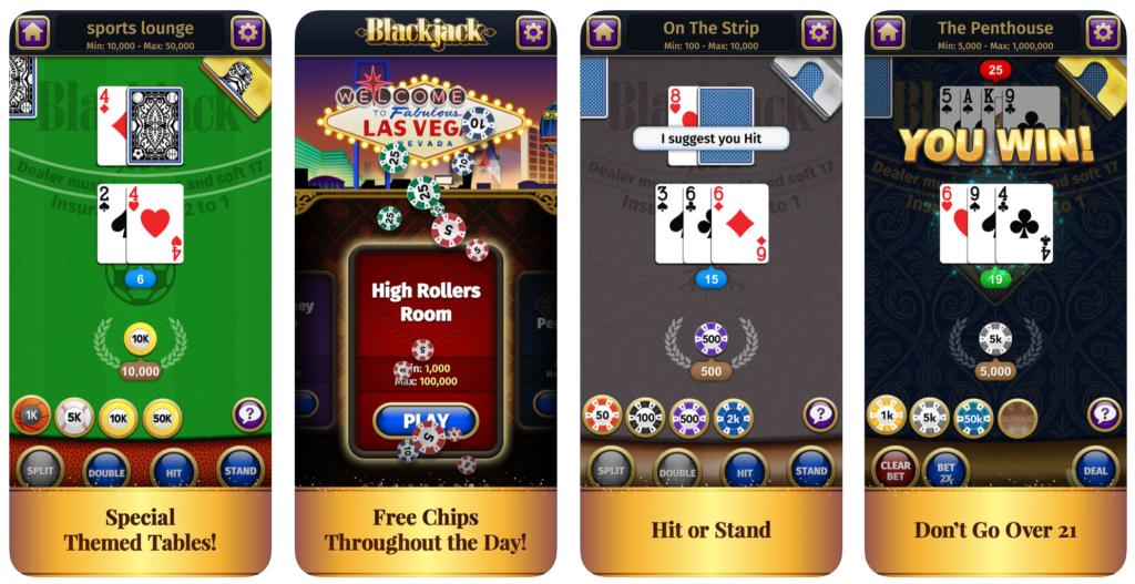 カードカウンティングの練習ができるアプリ