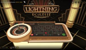 ライトニングルーレットのビデオゲーム