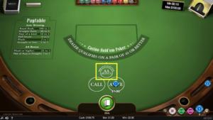 ベラジョンカジノのカジノホールデムポーカー