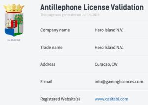 カジ旅のライセンス