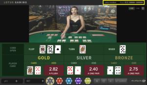 パイザカジノのカジノホールデム