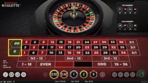 ベラジョンカジノのルーレット
