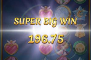 ベラジョンカジノのスロット・ムーンプリンセスで2万円勝ち