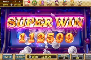 カジノ王国のスロットで10万円勝ち